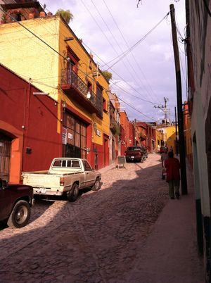 San miguel de allende. writing isn't just for memoirs