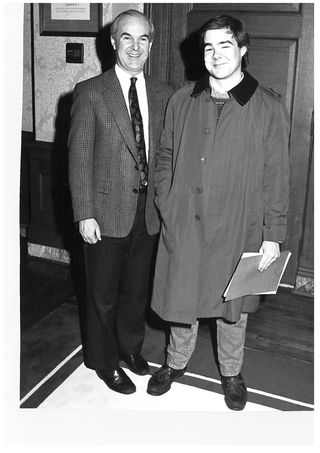 With booth gardner