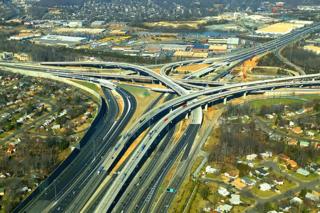95 & 495 interchange. Courtesy of capital-beltway.com