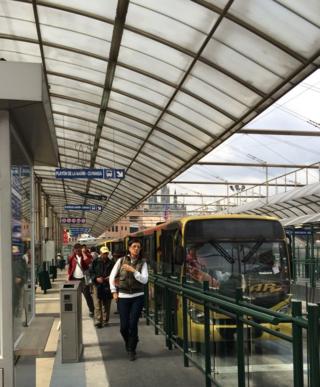 BRT in Quito
