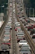 520 bridge traffic; by lightrailnow.org